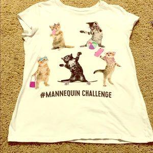 Girls Kitty Shirt 🐈 💗